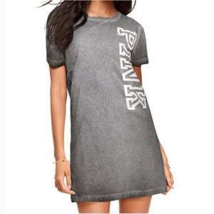 PINK Victoria's Secret Grey Campus Tee Dress